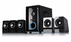 Home Theater Parlantes Pc Bluetooth Usb 5.1 Noga Logan 5000