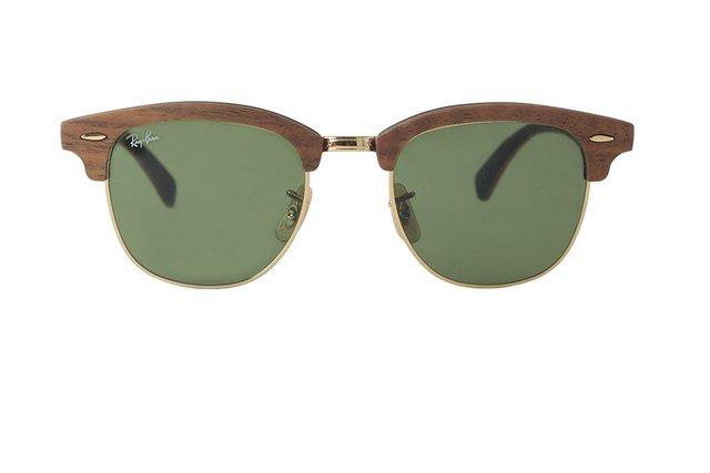 aef982413117f Óculos de Sol Ray Ban ClubMaster Wood RB 3016-M 1182 4E