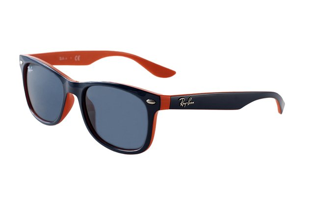 dc2d7e593 ... Óculos de Sol Infantil Ray Ban New Wayfarer Junior Remix RJ 9052S 178/80  na ...