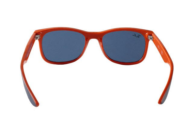e7d32f97f9d09 ... Óculos de Sol Infantil Ray Ban New Wayfarer Junior Remix RJ 9052S 178 80