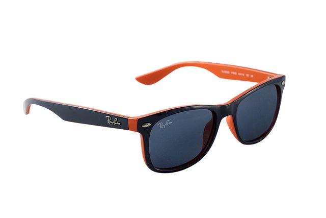 682863cea ... Óculos de Sol Infantil Ray Ban New Wayfarer Junior Remix RJ 9052S  178/80 ...