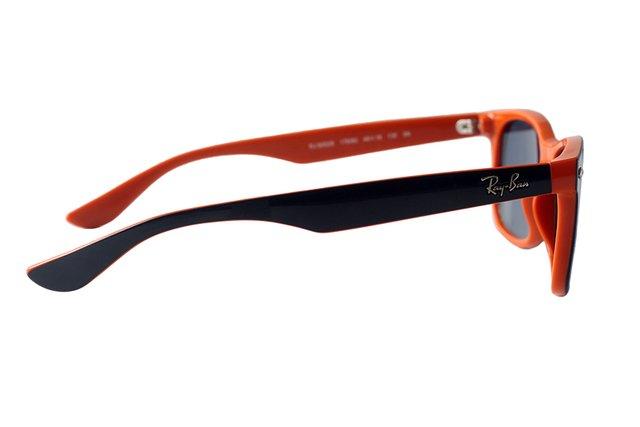 303176bc61a8e ... Óculos de Sol Infantil Ray Ban New Wayfarer Junior Remix RJ 9052S 178 80  ...