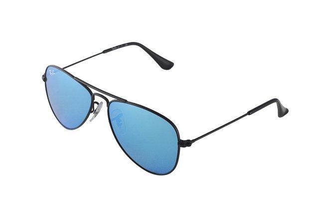 daed47e0141f2 ... Óculos de Sol Infantil Ray Ban Aviator Junior RJ 9506S 201 55 na  internet ...