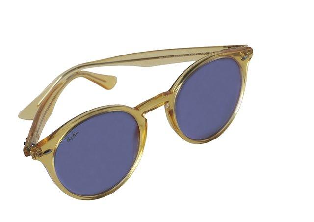 a39b1b1273444 ... comprar online  Óculos de Sol Ray Ban Round Stylish RB 2180 6277 B1 na  internet ...