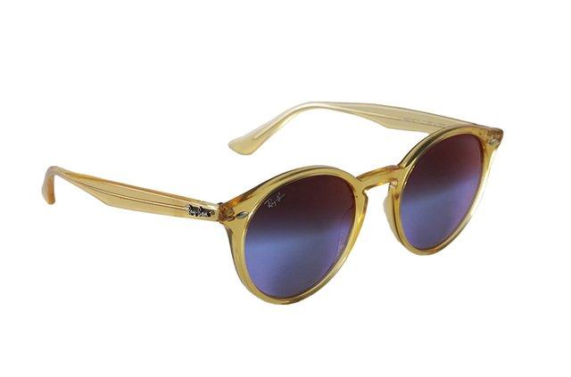 fa6c7c7a09a4d ... Óculos de Sol Ray Ban Round Stylish RB 2180 6277 B1 - Óptica Mezzon ...