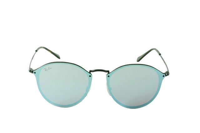 bc780e98d7628 Óculos de Sol Ray Ban Round Stylish RB 2180 6277 B1