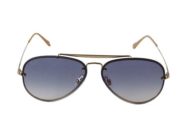 2687cdbdeaa09 Óculos de Sol Ray Ban Blaze Aviator RB 3584N 001 19