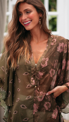 Caftan mix estampas na internet