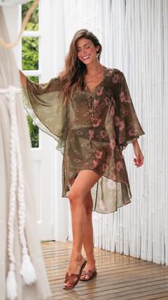 Caftan mix estampas