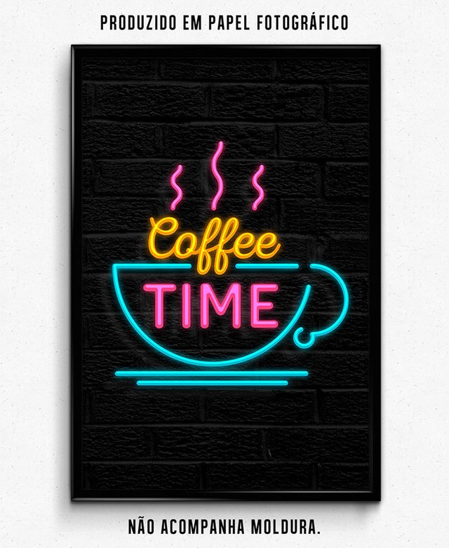 NEON COFFEE TIME