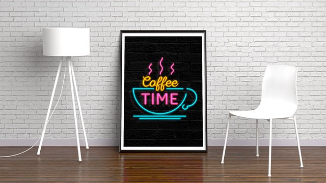 NEON COFFEE TIME - comprar online