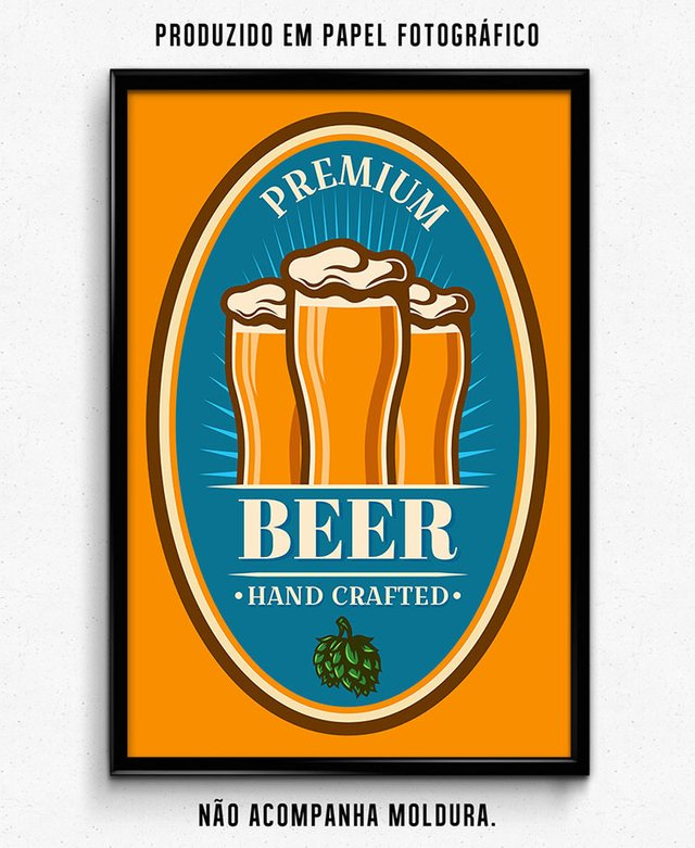 PREMIUM BEER HAND CRAFTED