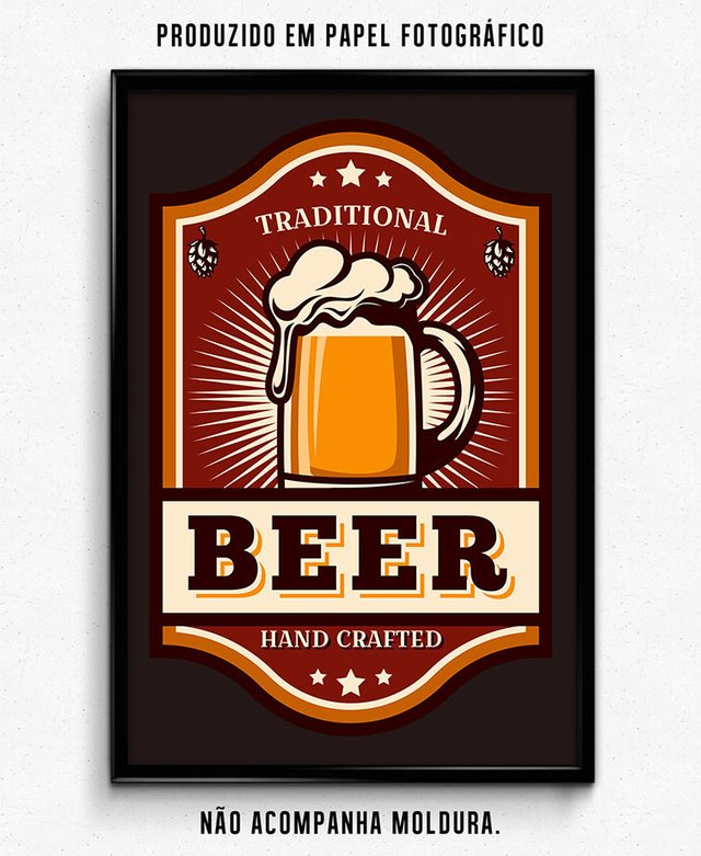 TRADITIONAL BEER HAND CRAFTED