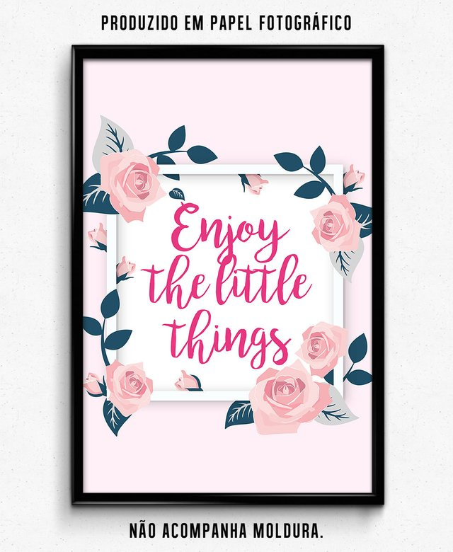 ENJOY THE LITTLE THINGS - comprar online