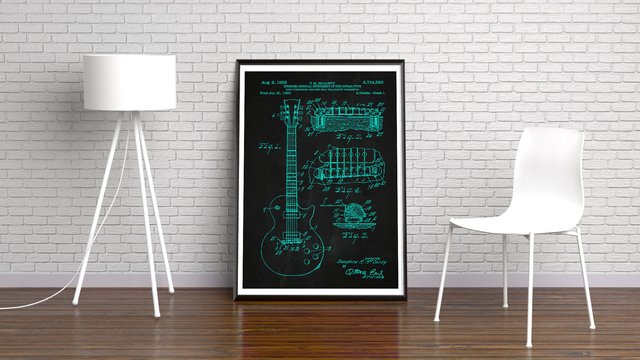 GUITAR PATENT na internet