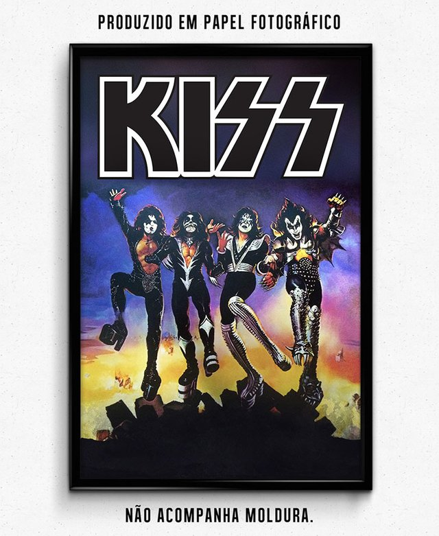 KISS BAND 02 - comprar online