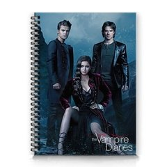 caderno serie the vampire diaries