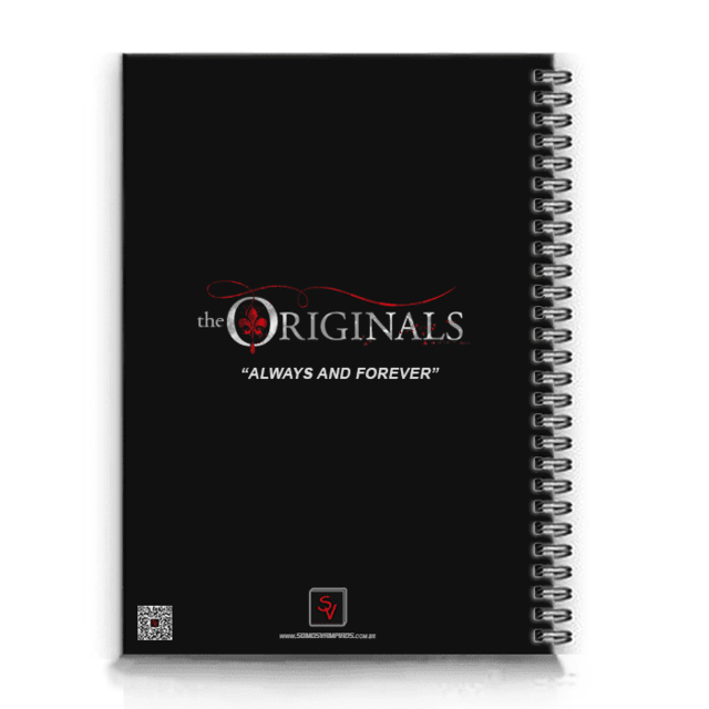 caderno serie the originals