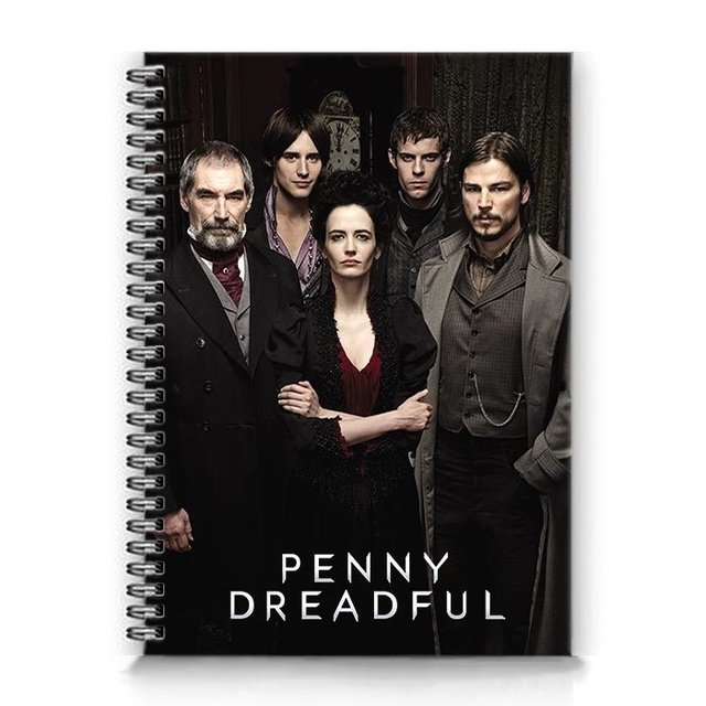 caderno penny dreadful