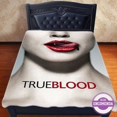 cobertor true blood vampiro