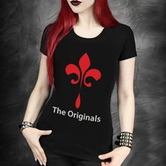 camiseta the originals baby look