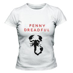 camiseta branca feminina penny dreadful