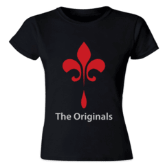camiseta feminina the originals