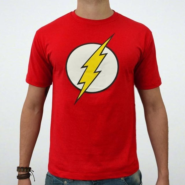 camisetas serie flash