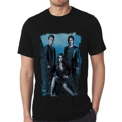camiseta preta serie the vampire diaries