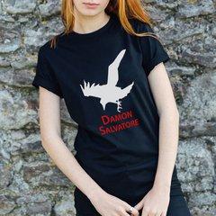 Camiseta - Damon Salvatore | Corvo