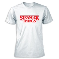 stranger things camisetas branca