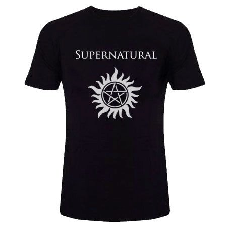 camiseta serie supernatural