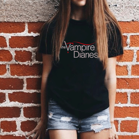 camiseta the vampire diaries