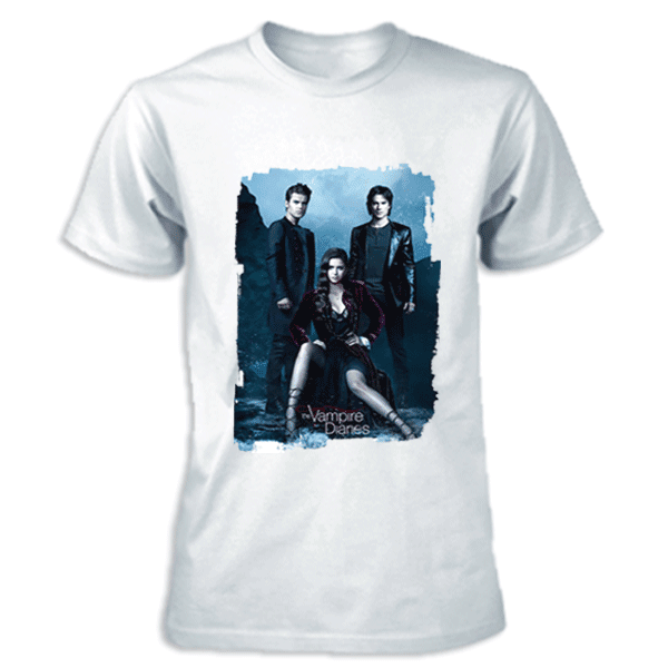 camiseta serie the vampire diaries