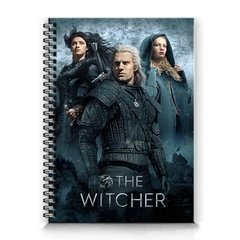 caderno The Witcher