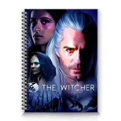 caderno The Witcher netflix