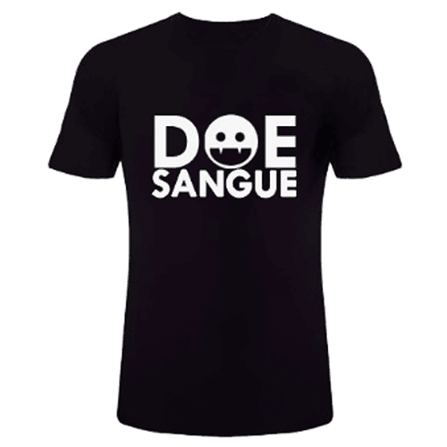camiseta vampiro doe sangue