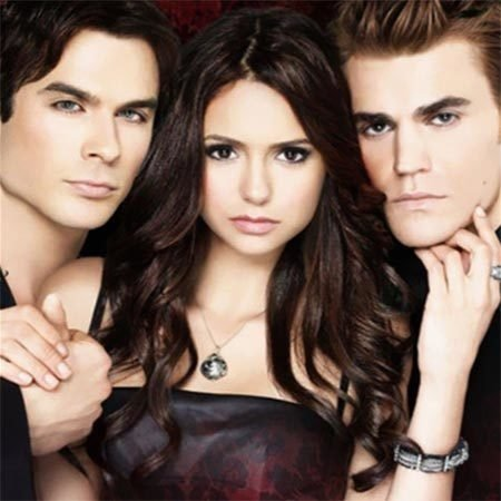 elena damon e stefan the vampire diaries