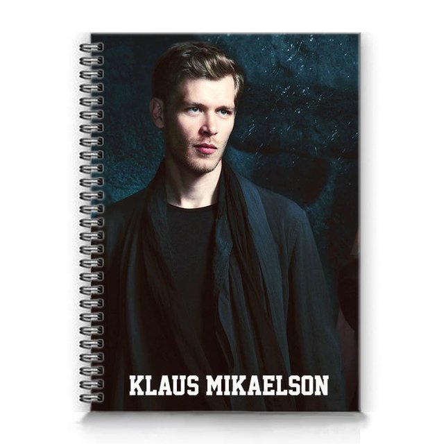 caderno klaus mikaelson the originals