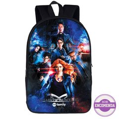 mochila escolar Shadowhunters