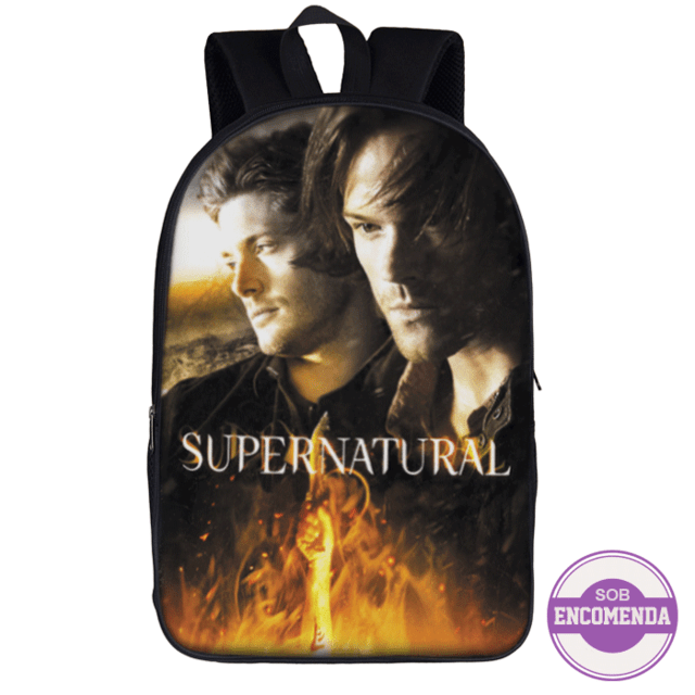 mochila escolar supernatural