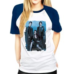 camiseta raglan the vampire diaries