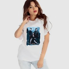 camiseta damon elena the vampire diaries