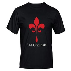 camiseta preta serie the originals