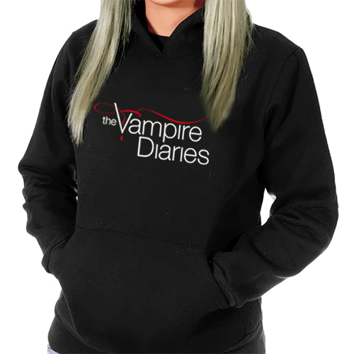 moletom the vampire diaries feminino