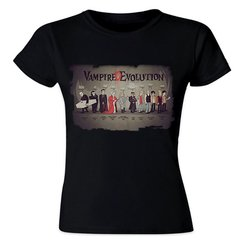 camiseta Baby Look - Vampire D Evolution