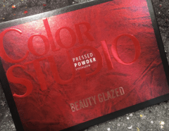 Paleta Color Studio Beauty Glazed na internet