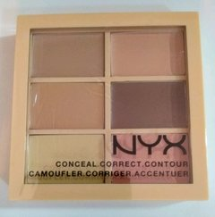 Paleta de corretivos NYX - Light/Clair