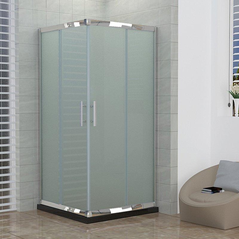 box ducha cabina 70x70 recto esmerilado sin recept culo