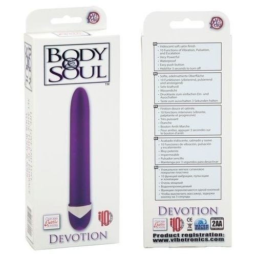 Body & Soul Devotion Vibes Purple - Vibrador Básico
